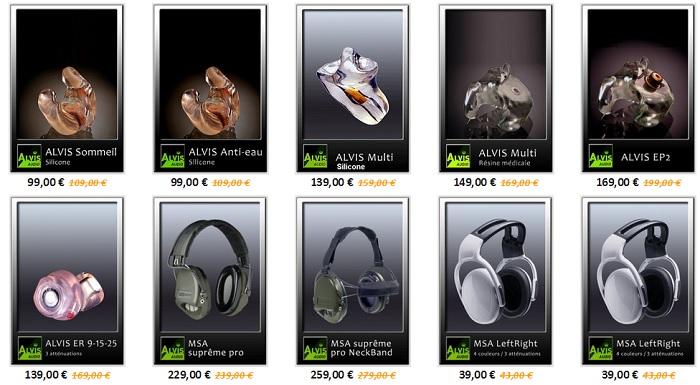 appareil auditif pré-réglé