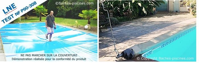 bache piscine opaque sur mesure