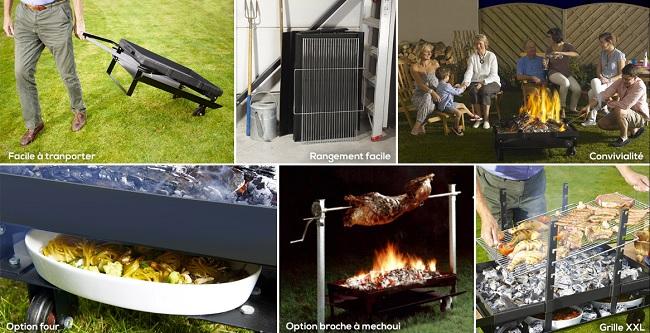 cheminee barbecue exterieur inox