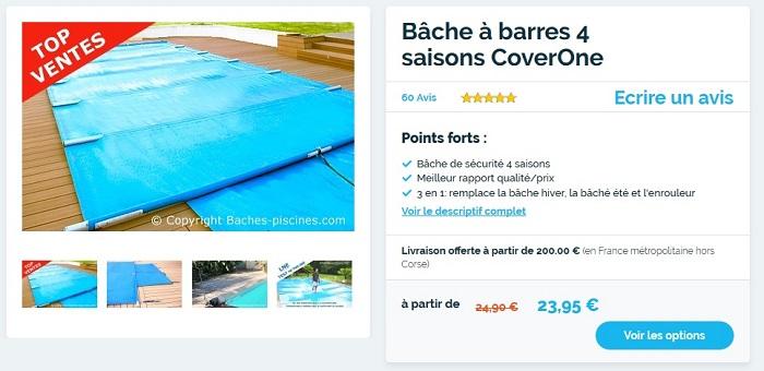 couverture de piscine 4 saisons